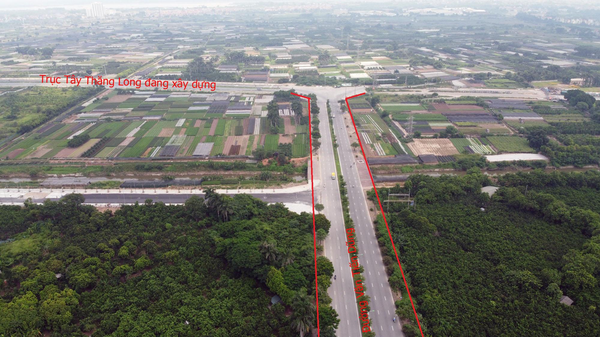 Đường sẽ mở theo qui hoạch ở Hà Nội: Toàn cảnh đường nối trục Tây Thăng Long đến gần Vành đai 4 - Ảnh 2.