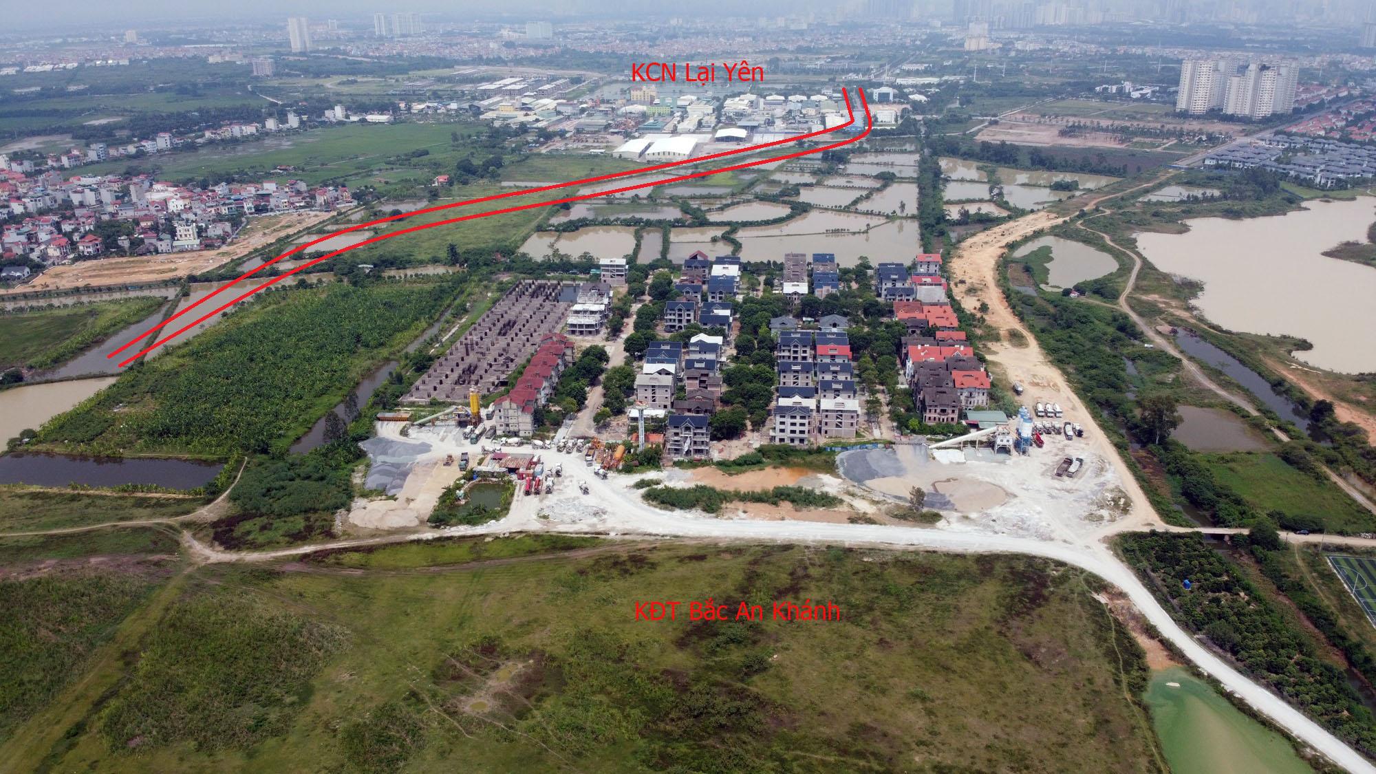 Đường sẽ mở theo qui hoạch ở Hà Nội: Toàn cảnh đường nối trục Tây Thăng Long đến gần Vành đai 4 - Ảnh 13.