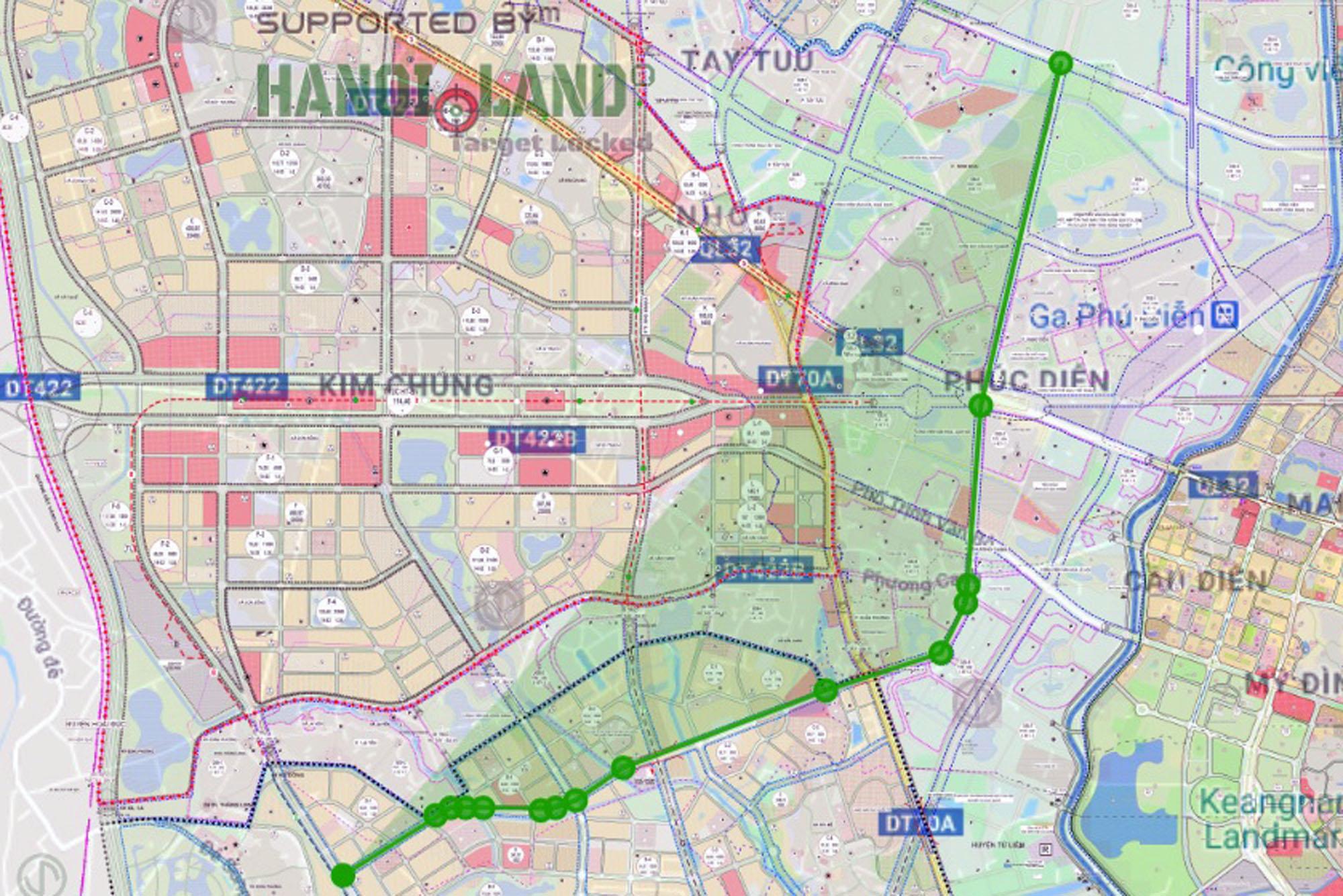 Những dự án hưởng lợi từ đường qua ba quận, nối trục Tây Thăng Long với Khu đô thị Bắc An Khánh theo qui hoạch - Ảnh 1.