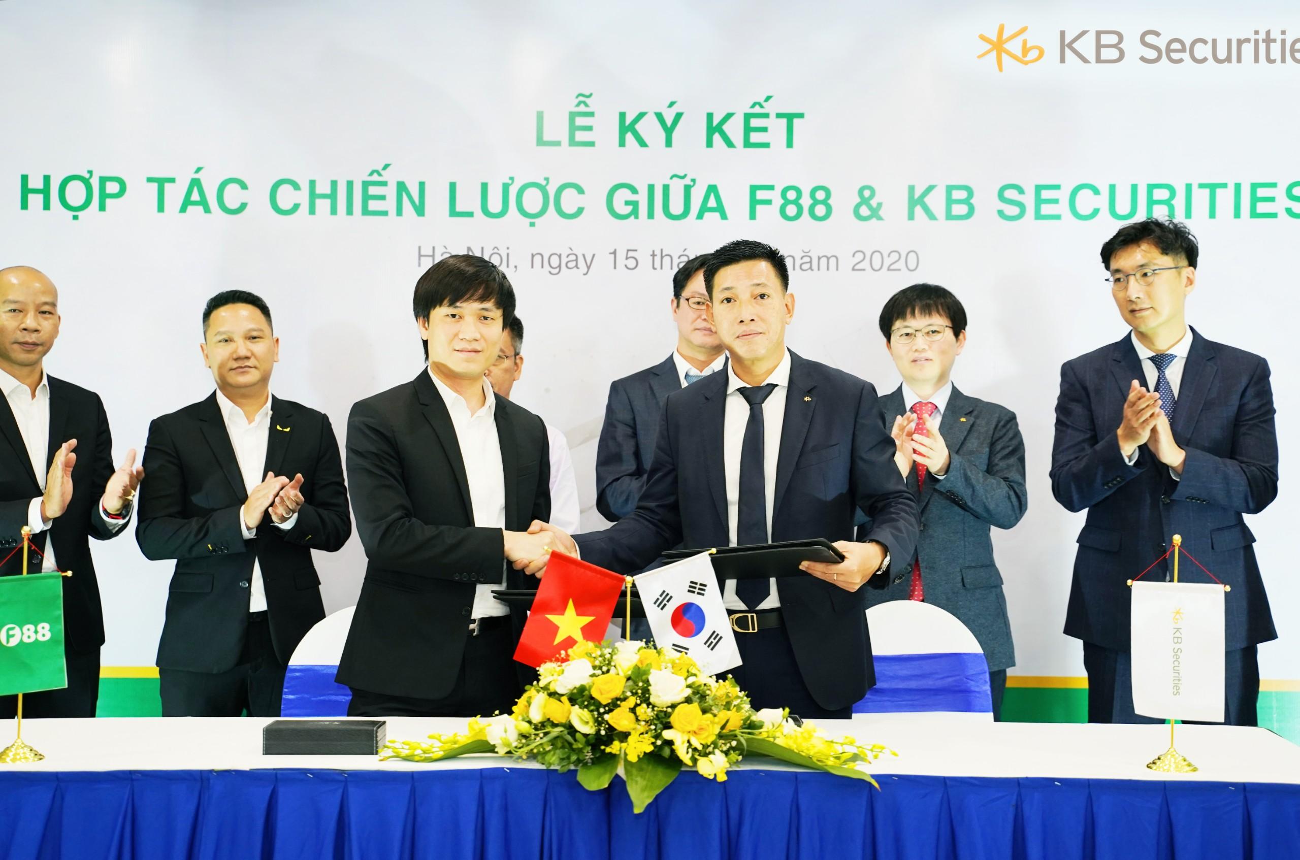 Cầm đồ F88 bắt tay với công ty chứng khoán Hàn Quốc - Ảnh 1.