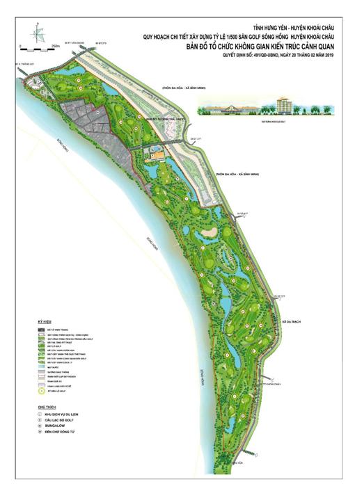 Dự án Sân Golf Sông Hồng giảm diện tích xuống còn gần 90 ha - Ảnh 1.