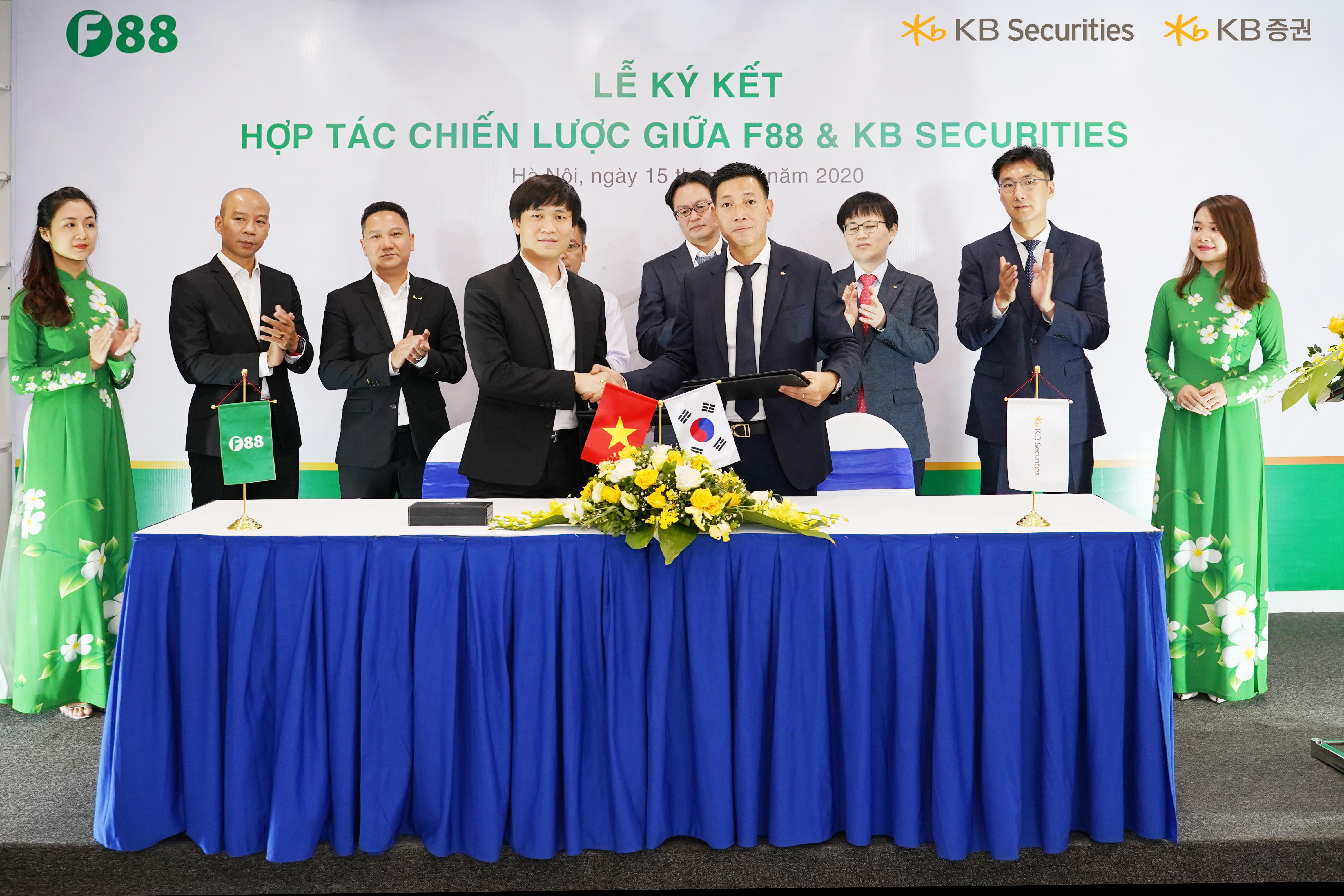 Cầm đồ F88 hợp tác với công ty chứng khoán Hàn Quốc