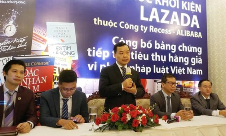 CEO First News Trí Việt: 'Lazada hỏi tại sao không cho một cơ hội sửa sai đã khởi kiện' - Ảnh 1.