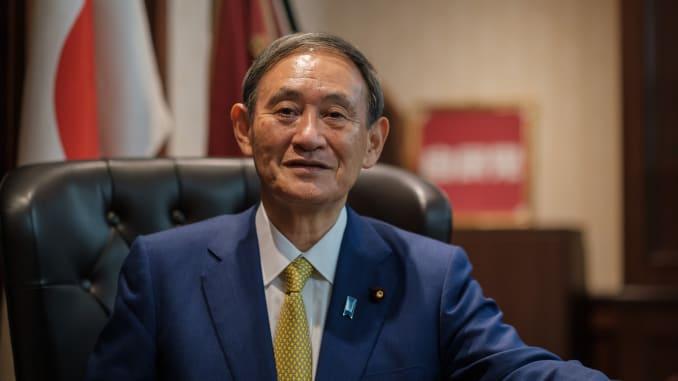 Ông Yoshihide Suga thay Shinzo Abe làm tân thủ tướng Nhật Bản - Ảnh 1.