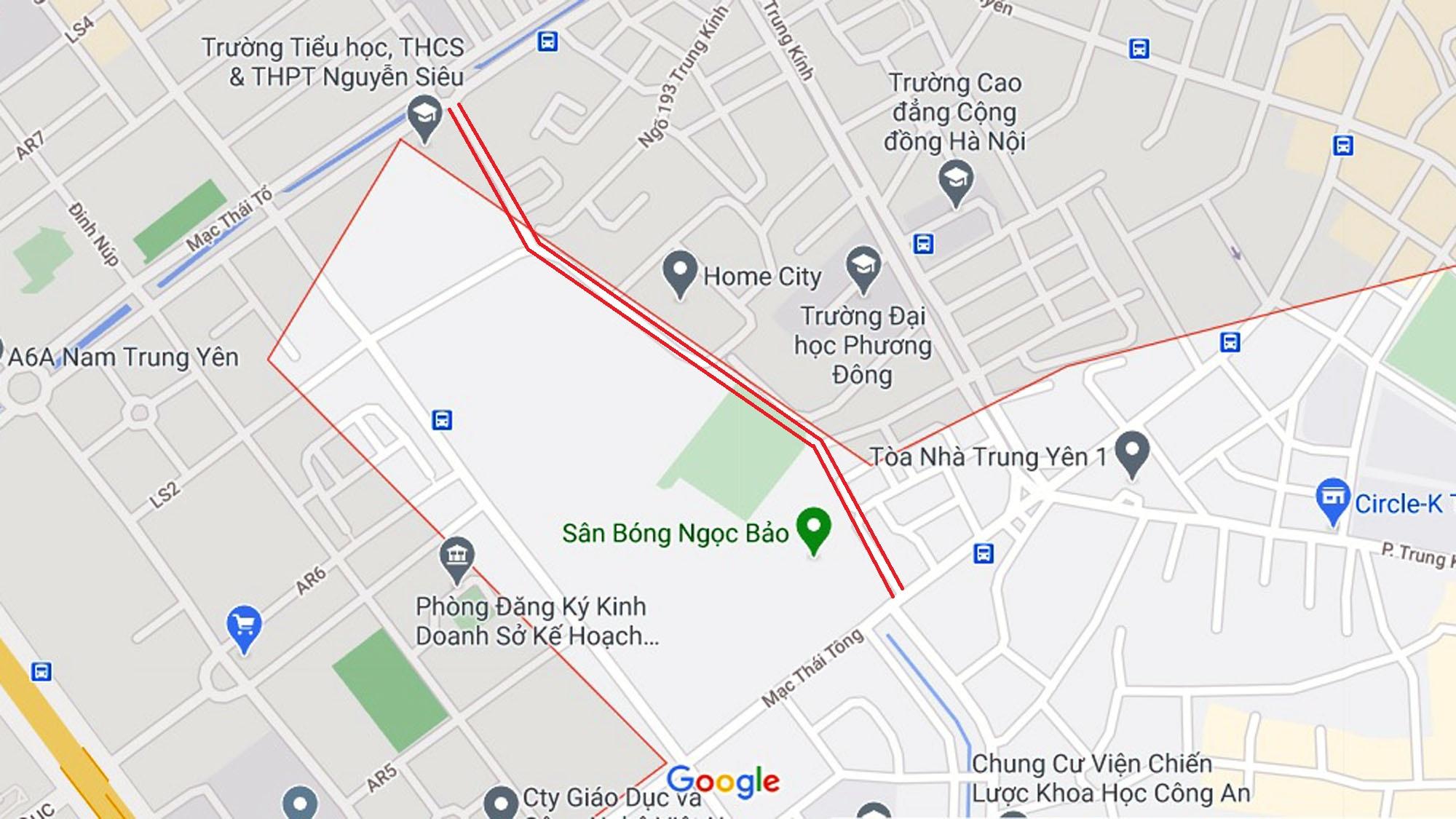 đường sẽ mở theo qui hoạch ở phường Trung Hòa, Cầu Giấy, Hà Nội - Ảnh 6.