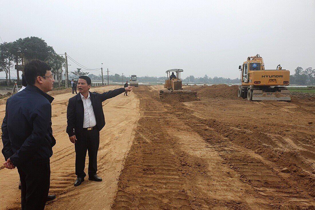 Tiến độ xây dựng các khu tái định cư cho dự án cao tốc Bắc-Nam mới đạt khoảng 40%
