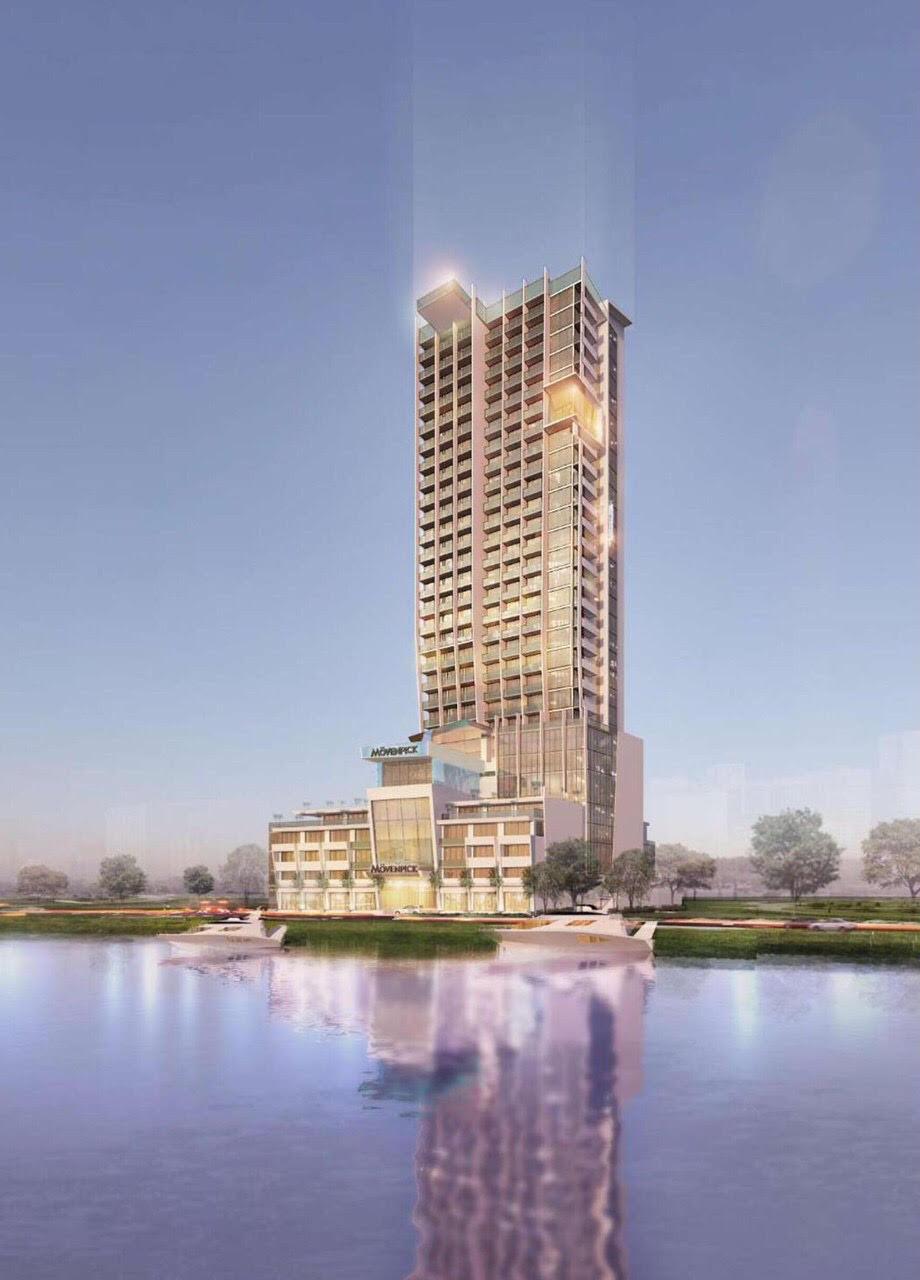 Dự án Movenpick Central 515 tỉ đồng tại Quảng Bình về tay Việt Group   - Ảnh 1.