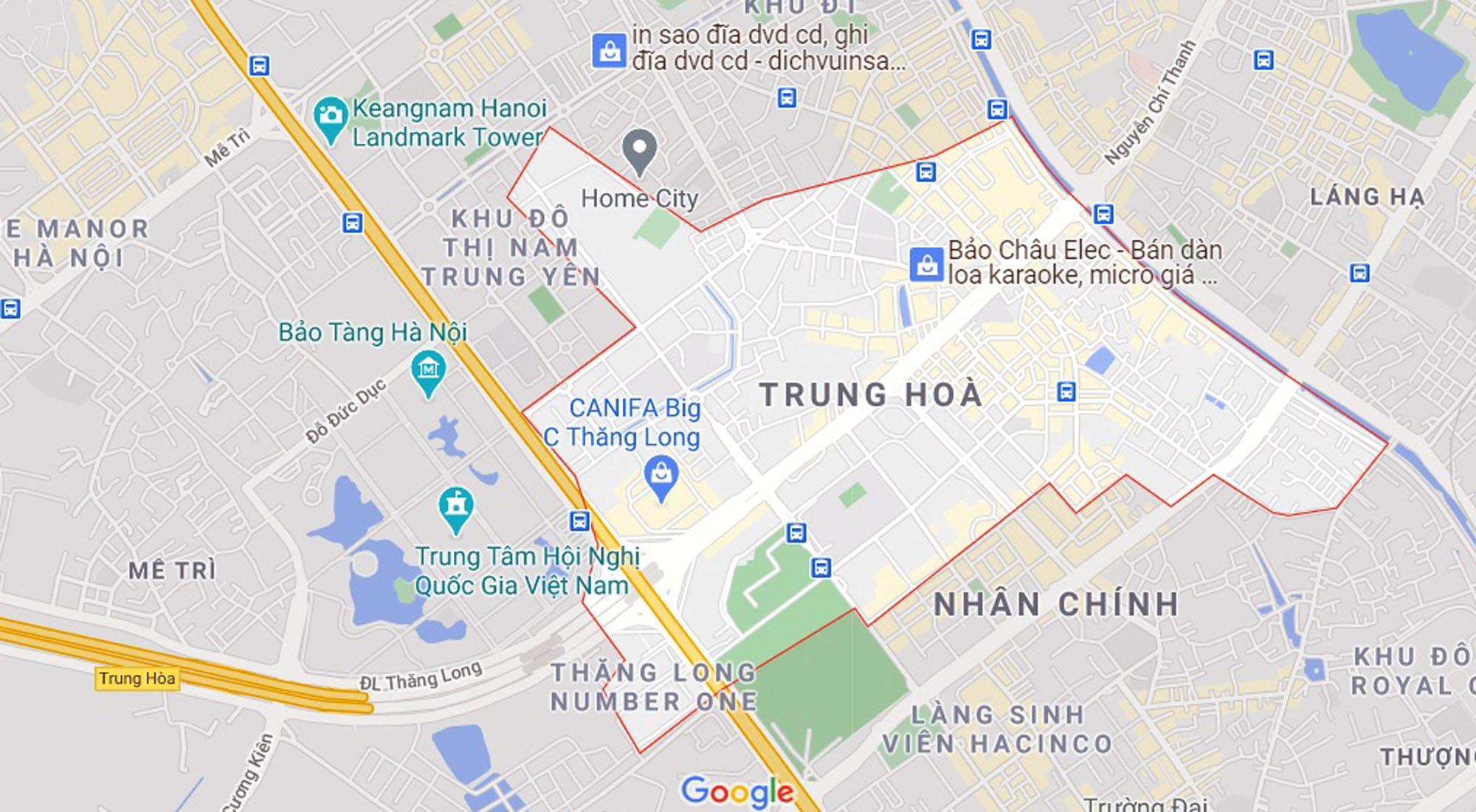 đường sẽ mở theo qui hoạch ở phường Trung Hòa, Cầu Giấy, Hà Nội - Ảnh 1.