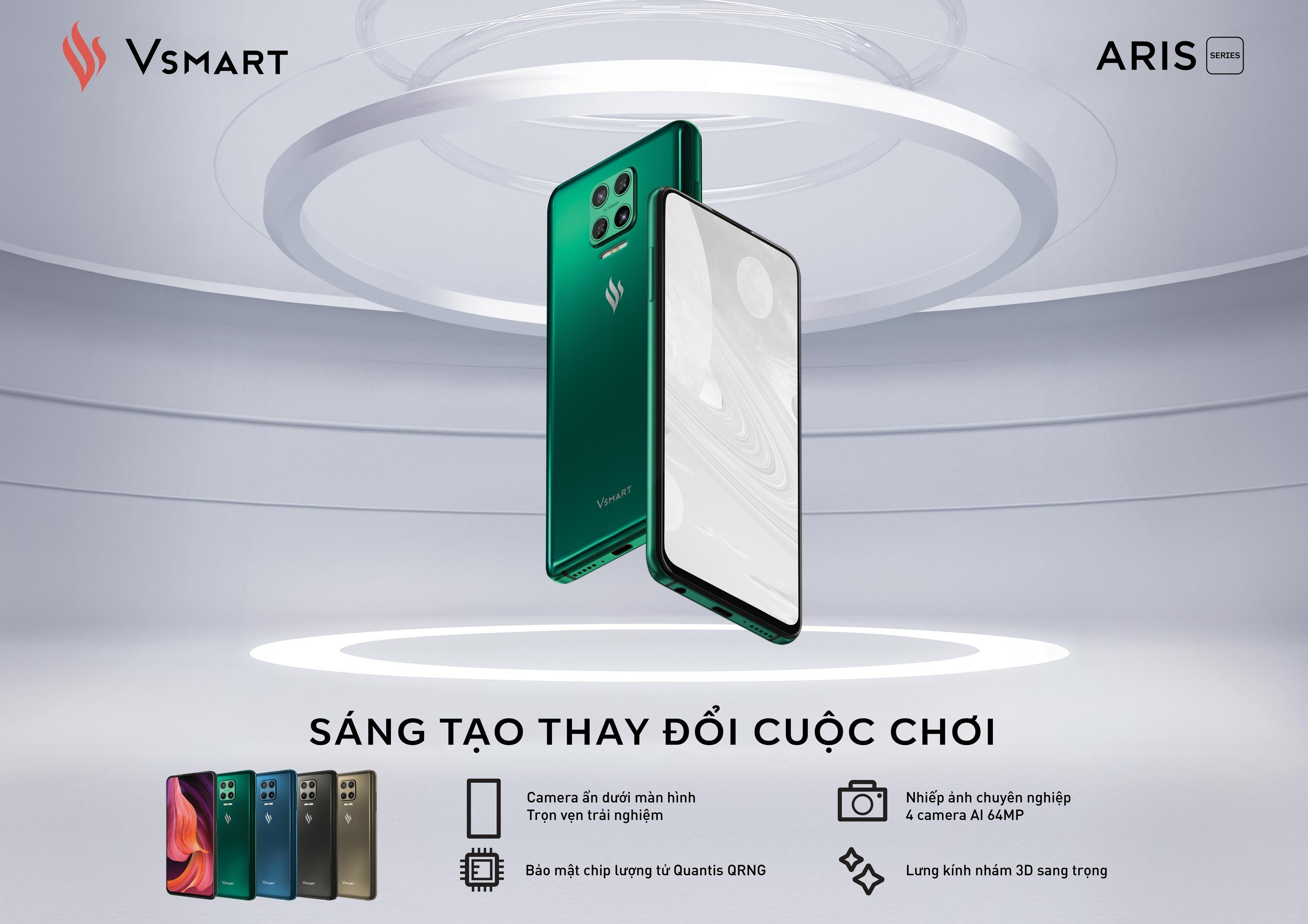 Vsmart Aris Pro: Điện thoại camera ẩn đầu tiên của Việt Nam có gì đặc biệt? - Ảnh 3.