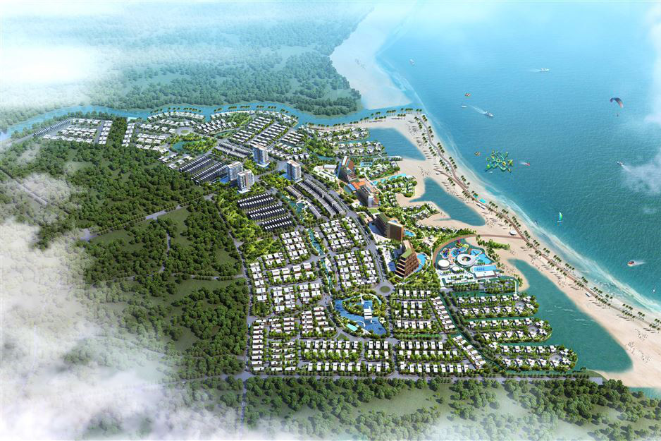 Công ty liên quan DRH Holdings huy động 1.500 tỉ cho khu nghỉ dưỡng 73 ha tại Bình Thuận?