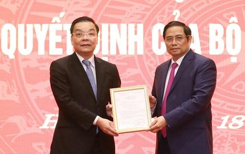 Chân dung tân Phó bí thư Thành ủy Hà Nội Chu Ngọc Anh - Ảnh 1.