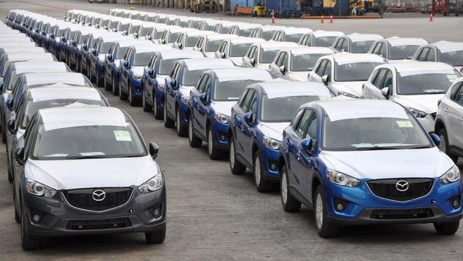 Xe ô tô nhập từ Thái Lan tăng gấp đôi sản lượng trong tháng 8 so với tháng trước - Ảnh 1.