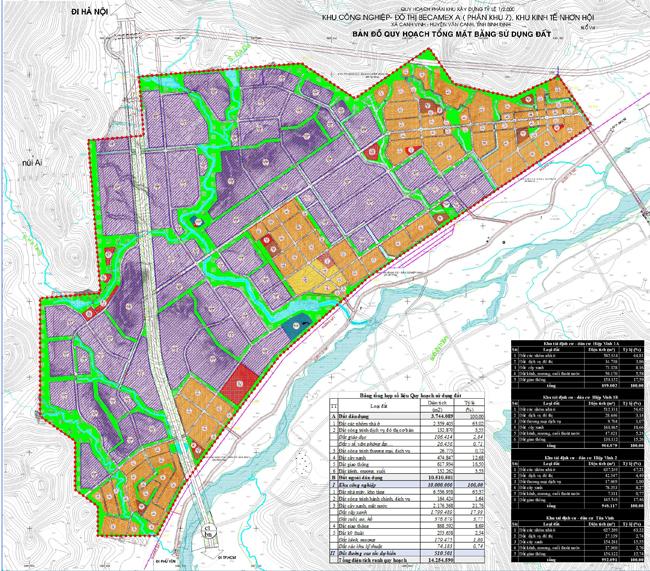 Bình Định duyệt 1.425 ha đất xây dựng khu công nghiệp đô thị Becamex A - Ảnh 1.