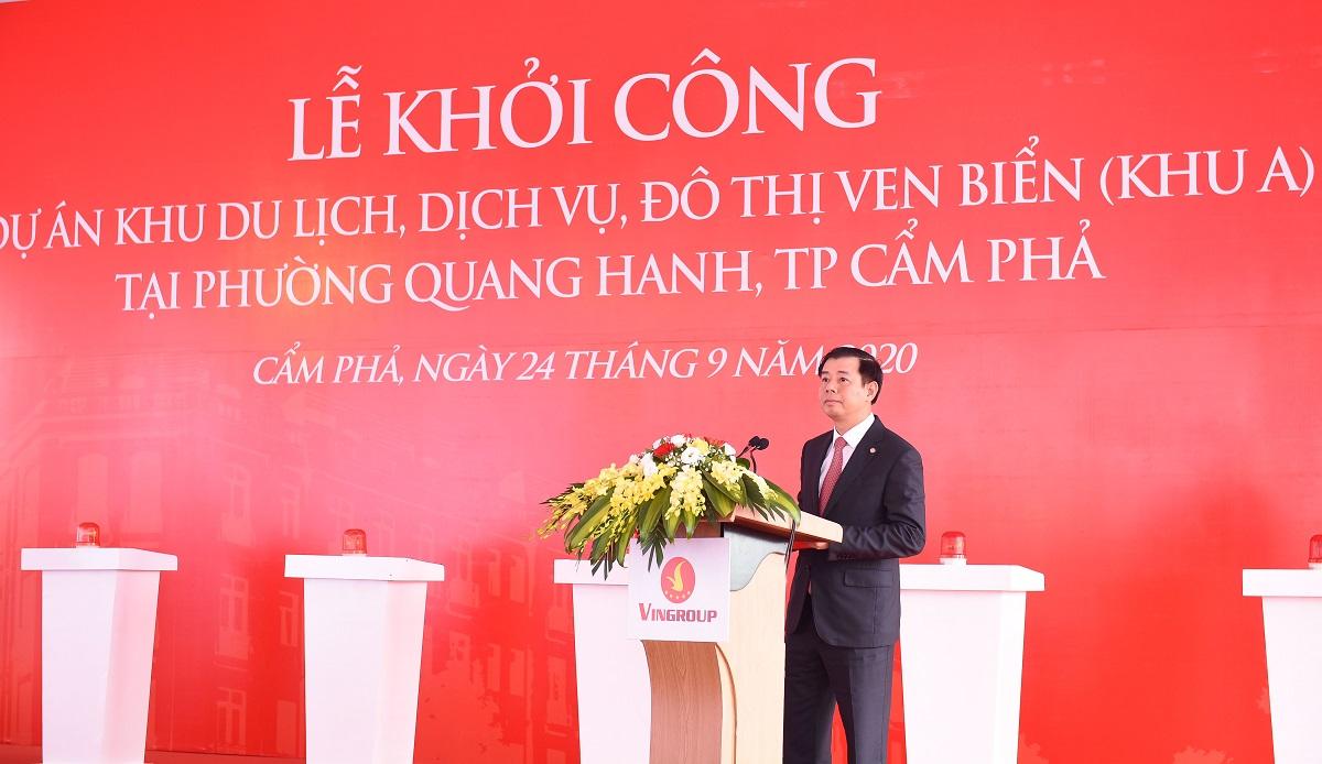 Vingroup khởi công Khu du lịch, dịch vụ, đô thị ven biển Quang Hanh - Ảnh 2.