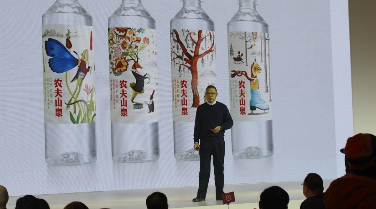 Tỉ phú hãng nước đóng chai soán ngôi người giàu nhất Trung Quốc của Jack Ma - Ảnh 1.