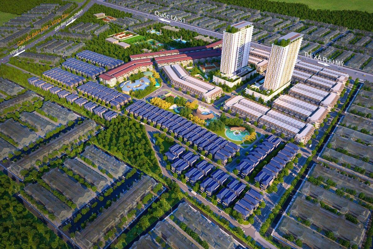 Bà Rịa - Vũng Tàu cho phép đầu tư Khu nhà ở Sadaco 962 căn