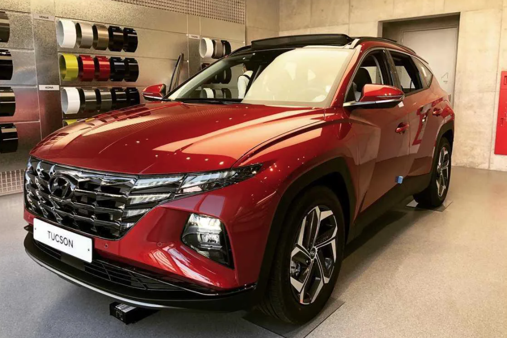 Cận cảnh 'bom tấn' Hyundai Tucson 2022 sắp ra mắt