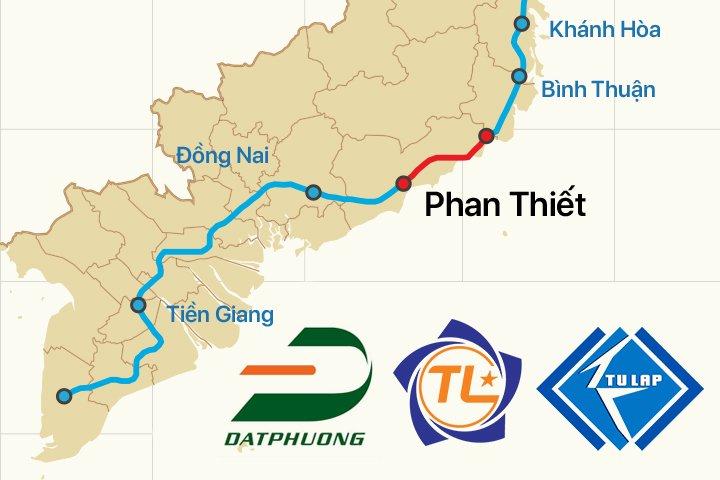 Năng lực của bộ ba doanh nghiệp trúng thầu dự án thành phần cao tốc Bắc - Nam đoạn Vĩnh Hảo - Phan Thiết ra sao?