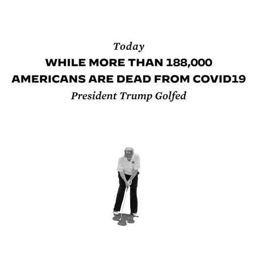 Đối thủ Biden công kích ông Trump bỏ đi chơi golf sau dự báo 410.000 người Mỹ tử vong vì COVID-19 - Ảnh 2.