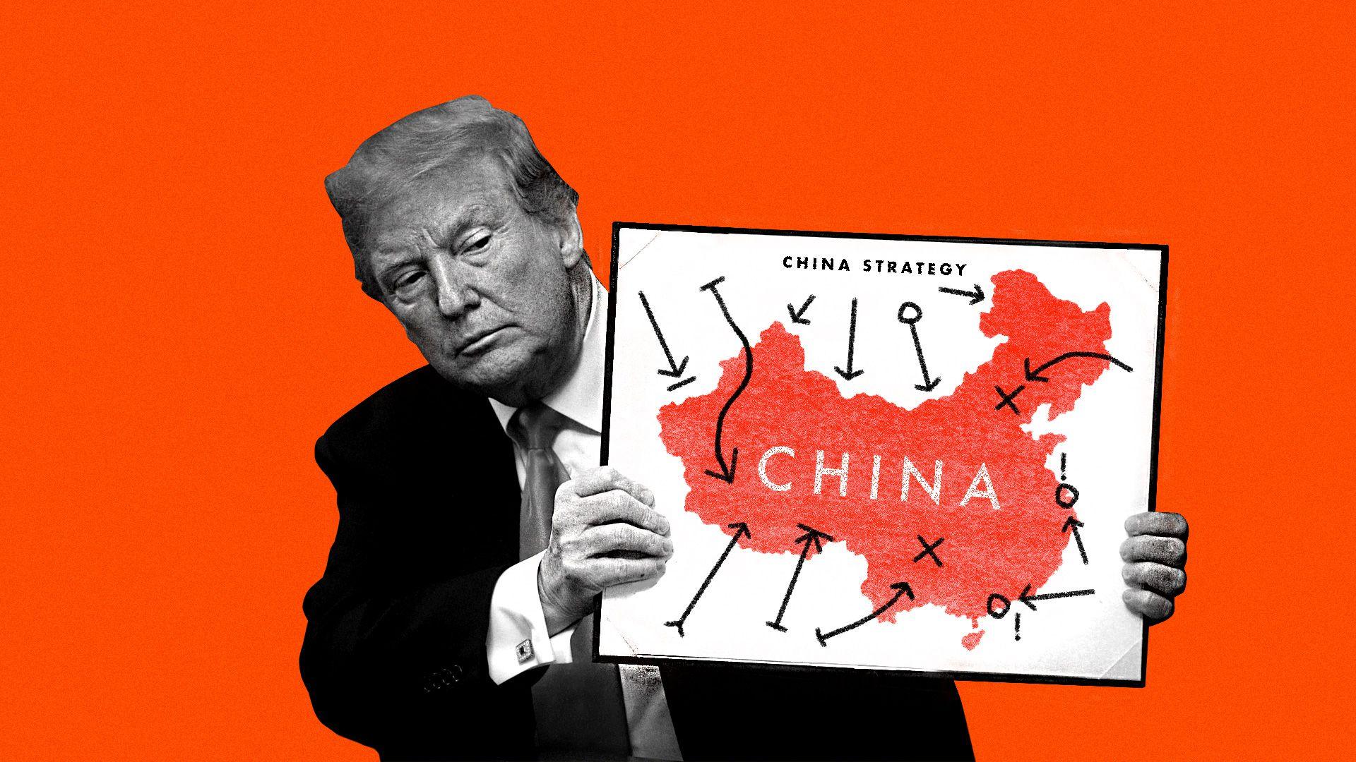 Ông Trump lại dọa cắt đứt quan hệ kinh tế với Trung Quốc - Ảnh 1.