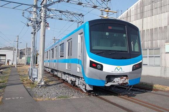 Đoàn tàu tuyến Metro số 1 dự kiến về Việt Nam vào giữa tháng 10