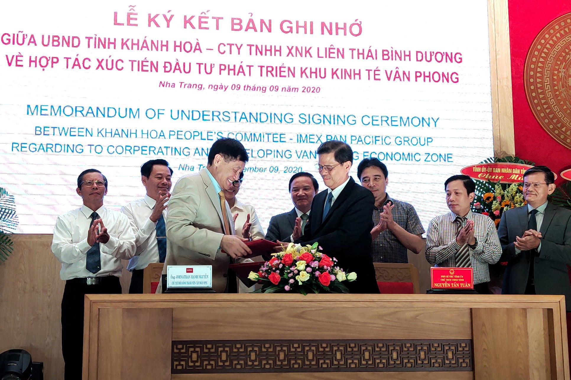 Công ty ông Johnnathan Hạnh Nguyễn chính thức hợp tác xúc tiến đầu tư phát triển KKT Vân Phong