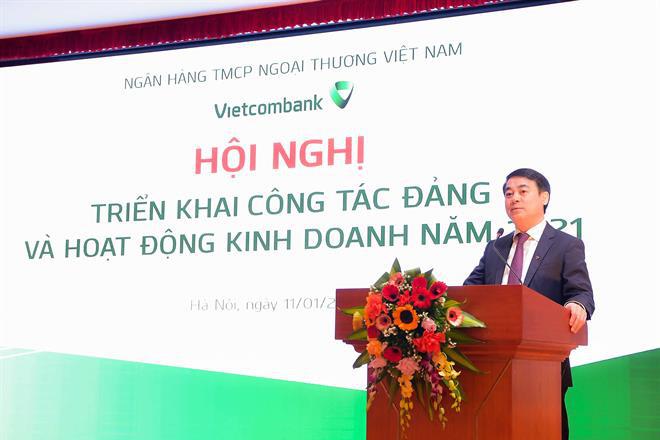 Vietcombank đề xuất mục tiêu lãi 25.200 tỷ đồng năm 2021