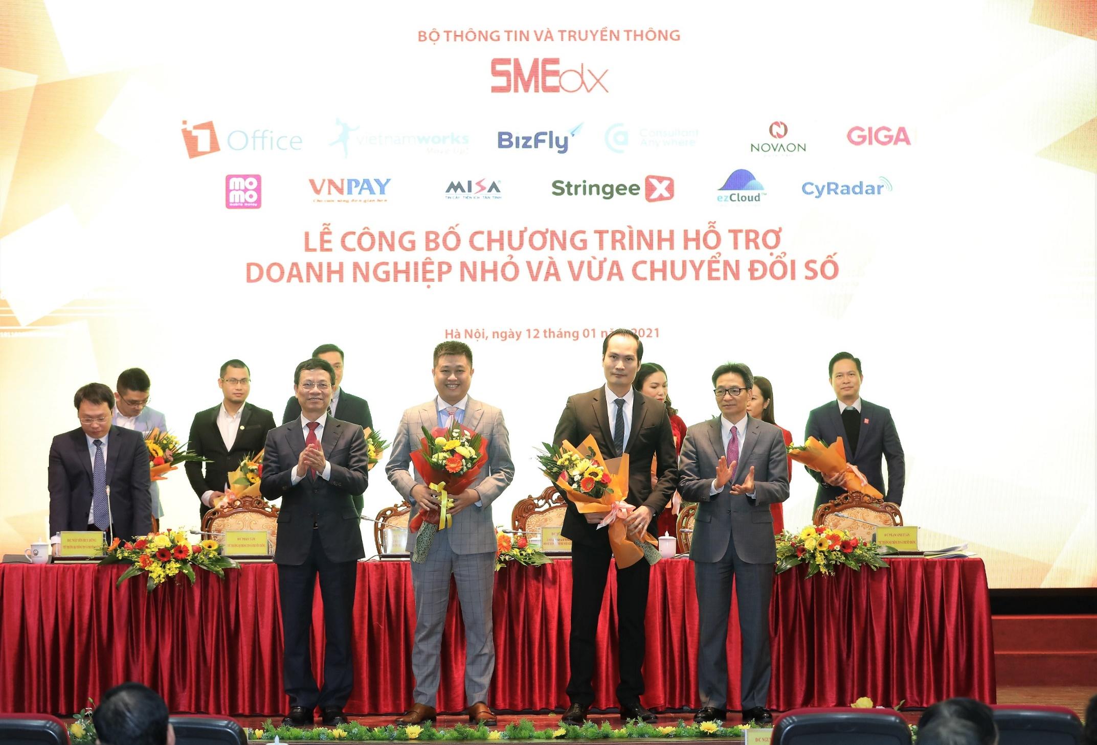 Bộ Thông tin Truyền thông lựa chọn Bizfly vào danh sách các nền tảng chuyển đổi số Make in Vietnam - Ảnh 1.