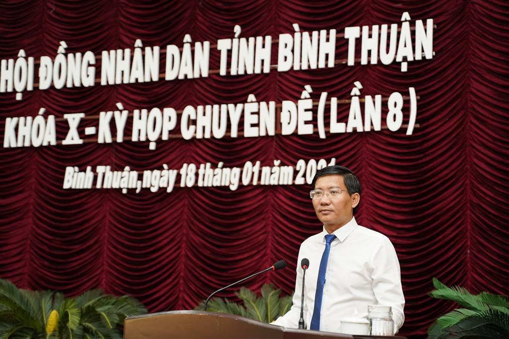 Ông Lê Tuấn Phong giữ chức Chủ tịch UBND tỉnh Bình Thuận
