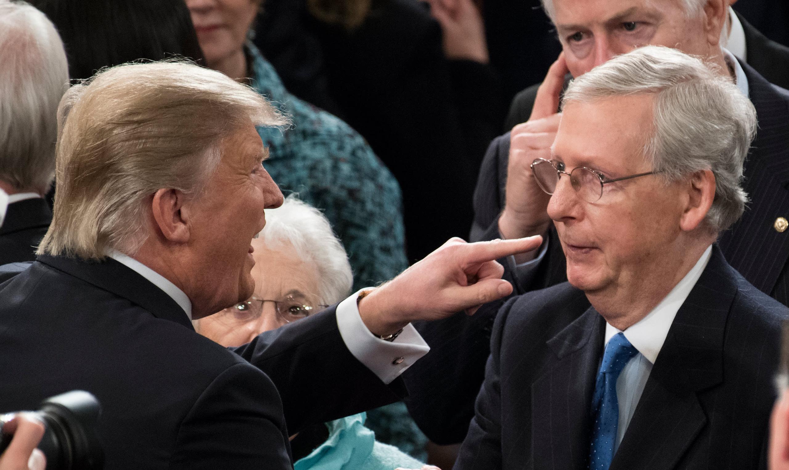 Đảng Cộng hòa quay lưng, lần đầu bác quyền phủ quyết của ông Trump - Ảnh 1.