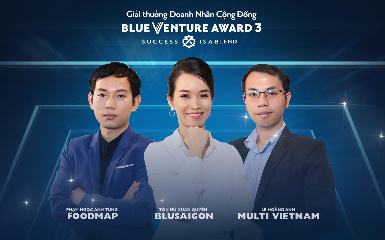 Sàn thương mại điện tử nông sản Foodmap vô địch Blue Venture Award mùa 3 - Ảnh 1.