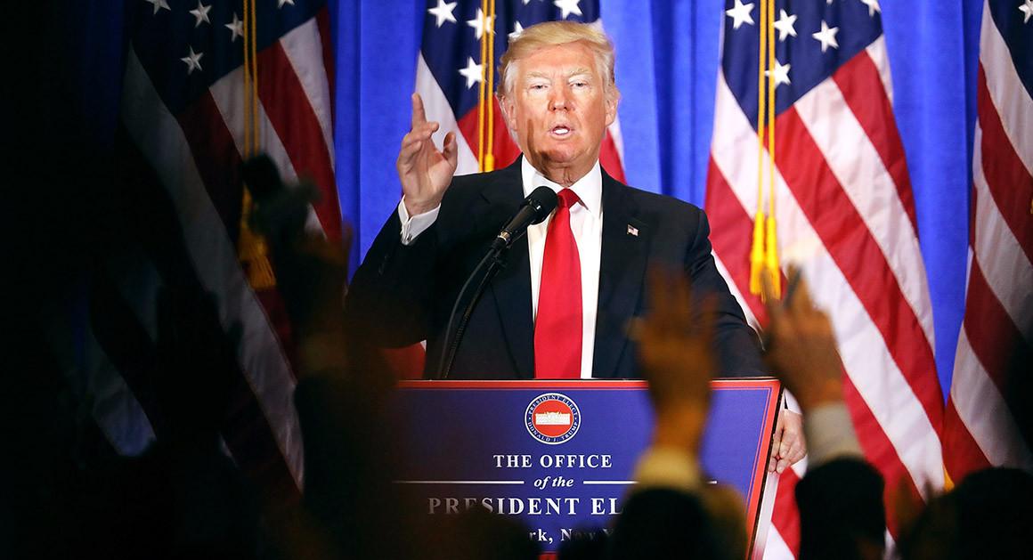 Những lời nói dối cuối cùng của ông Trump trên cương vị Tổng thống Mỹ - Ảnh 1.