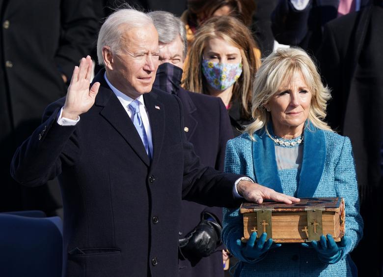 [PhotoStory] Toàn cảnh lễ nhậm chức của Tổng thống Biden  - Ảnh 12.
