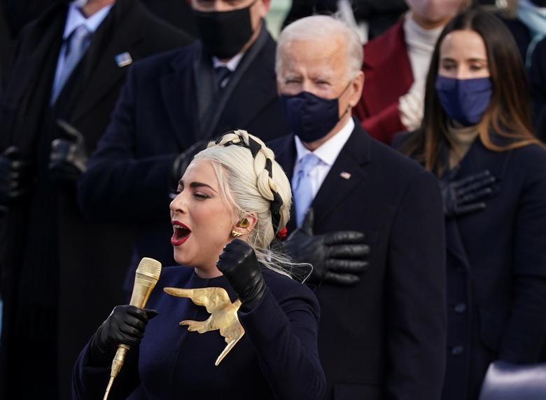 [PhotoStory] Toàn cảnh lễ nhậm chức của Tổng thống Biden  - Ảnh 10.
