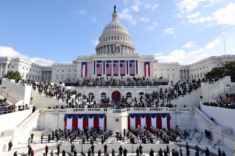 [PhotoStory] Toàn cảnh lễ nhậm chức của Tổng thống Biden  - Ảnh 17.