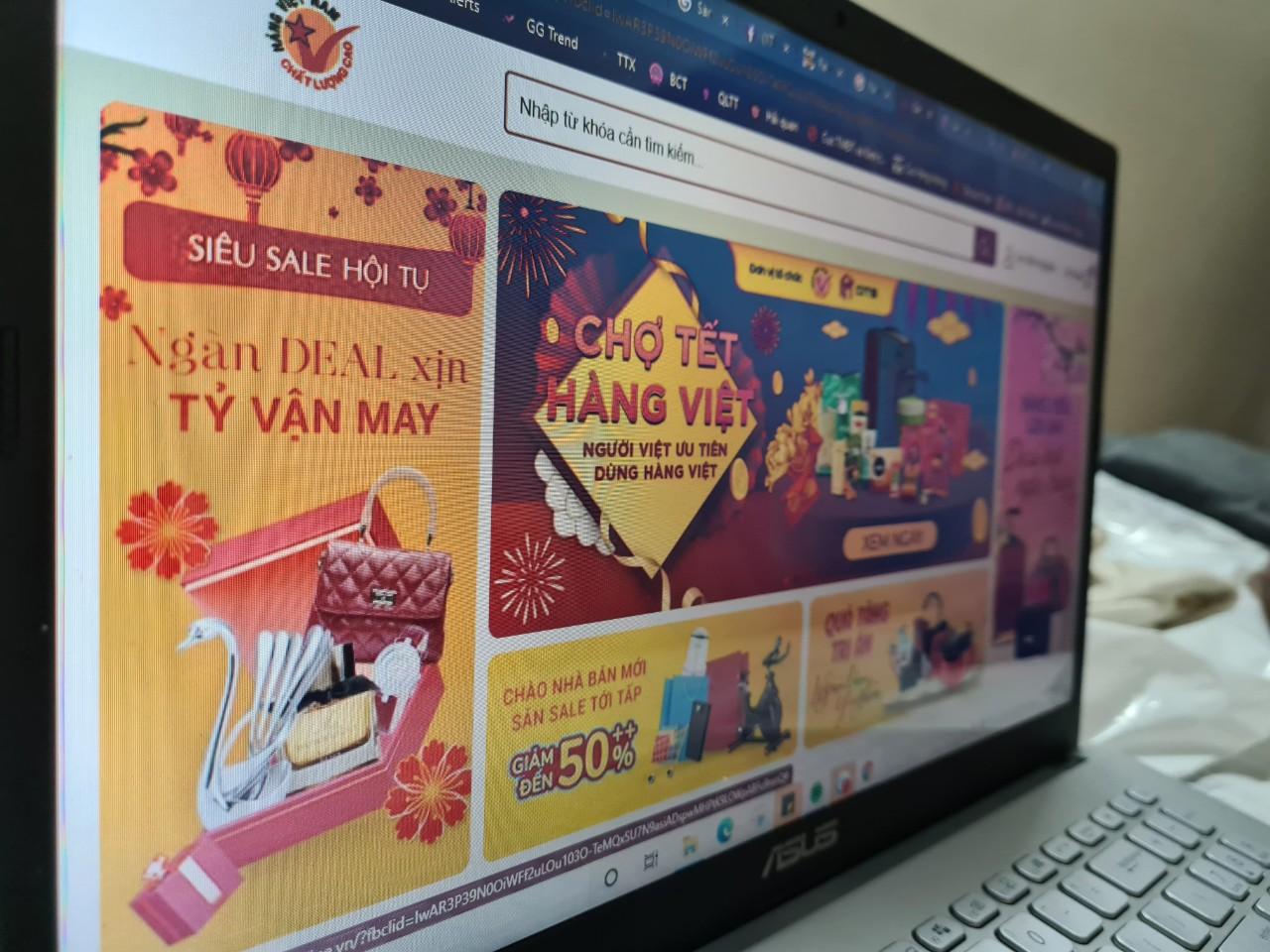 Sàn TMĐT hàng Việt Nam chất lượng cao chính thức ra mắt người tiêu dùng - Ảnh 1.