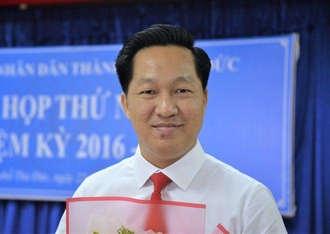 Ông Hoàng Tùng làm Chủ tịch UBND TP Thủ Đức - Ảnh 1.