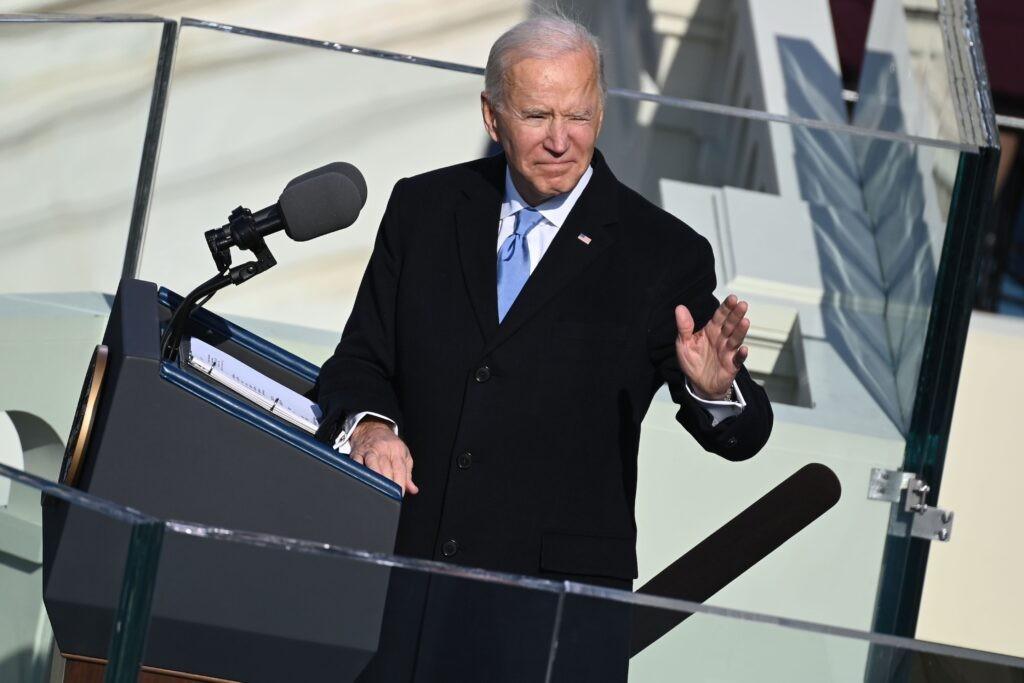 Toàn văn bài phát biểu nhậm chức của Tổng thống Joe Biden - Ảnh 1.