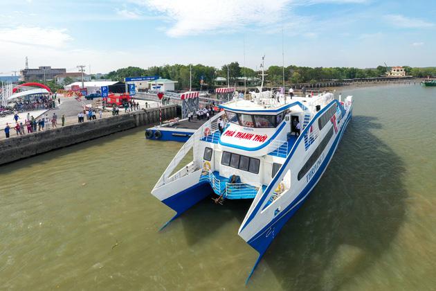 Sẽ mở xe buýt điện kết nối phà biển Cần Giờ - Vũng Tàu?