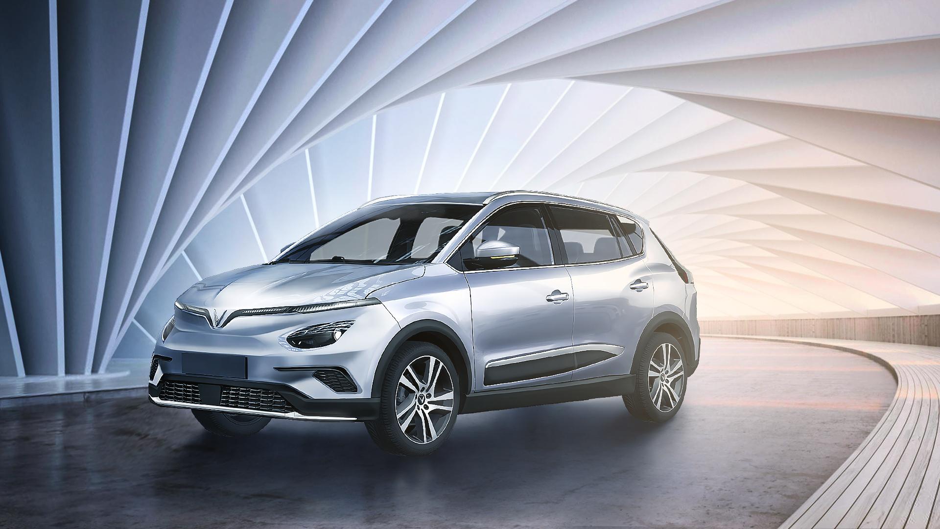 Vinfast chính thức công bố ba mẫu ô tô điện, xử lí ở tốc độ cao trên 100km/h - Ảnh 1.