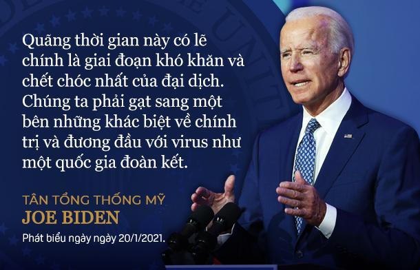 Toàn văn bài phát biểu nhậm chức của Tổng thống Joe Biden - Ảnh 4.
