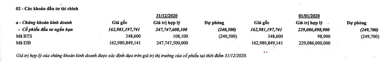 Một công ty xuất nhập khẩu chìm trong nợ nần đang nắm 6 triệu cổ phiếu EIB - Ảnh 1.