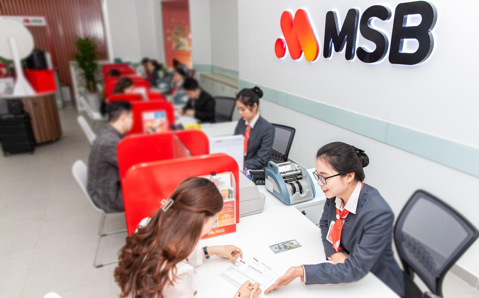 Lợi nhuận trước thuế vượt kế hoạch, MSB dự kiến chia cổ tức tối thiểu 15% - Ảnh 1.
