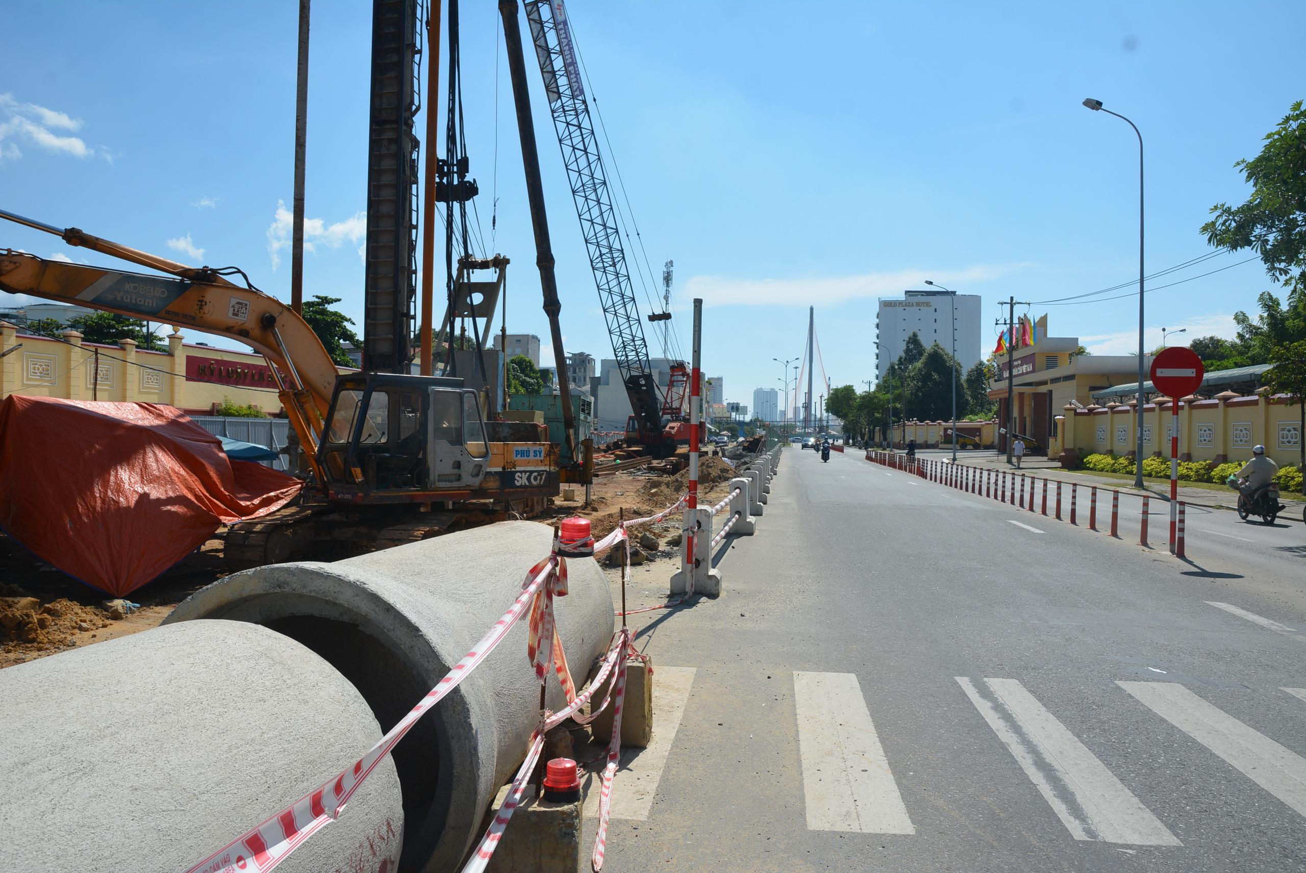 Dự án cầu, hầm phía Tây cầu Trần Thị Lý Đà Nẵng hơn 700 tỷ đồng bị trễ tiến độ - Ảnh 1.