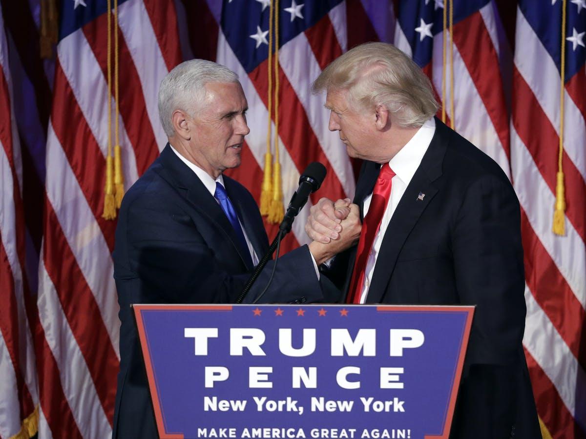 Ông Trump cố ép phó tướng Pence lật ngược kết quả bầu cử nhưng chỉ phí công vô ích - Ảnh 1.