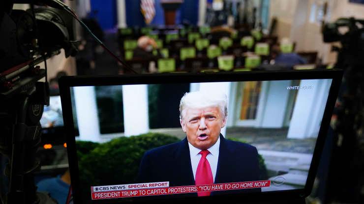 Ông Trump vẫn chưa chịu thua sau phán quyết của Quốc hội  - Ảnh 1.