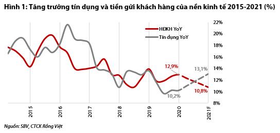 VDSC: Nhu cầu tín dụng sẽ phục hồi, dự kiến tăng 13,1% trong năm 2021 - Ảnh 1.