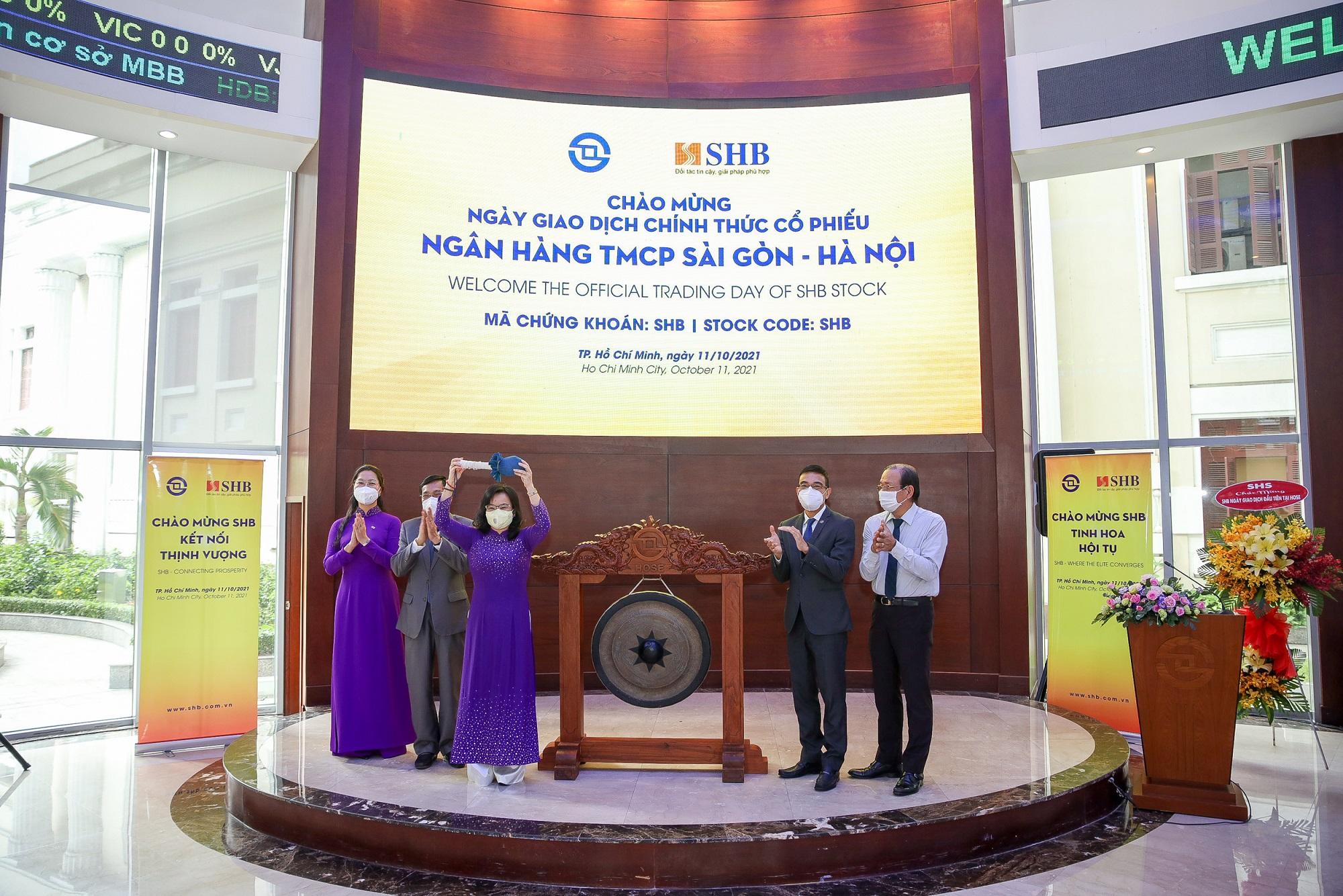 Hơn 1,9 tỷ cổ phiếu SHB chính thức giao dịch trên HOSE - Ảnh 1.