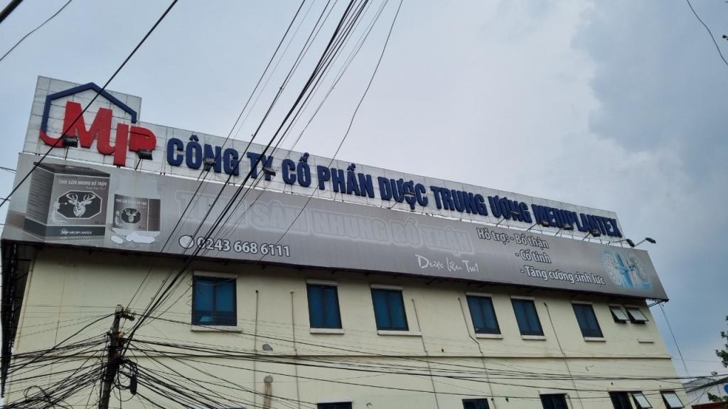 UBCK xử phạt Dược Trung Ương Mediplantex, Tổng Công ty Chăn nuôi Việt Nam - Ảnh 1.