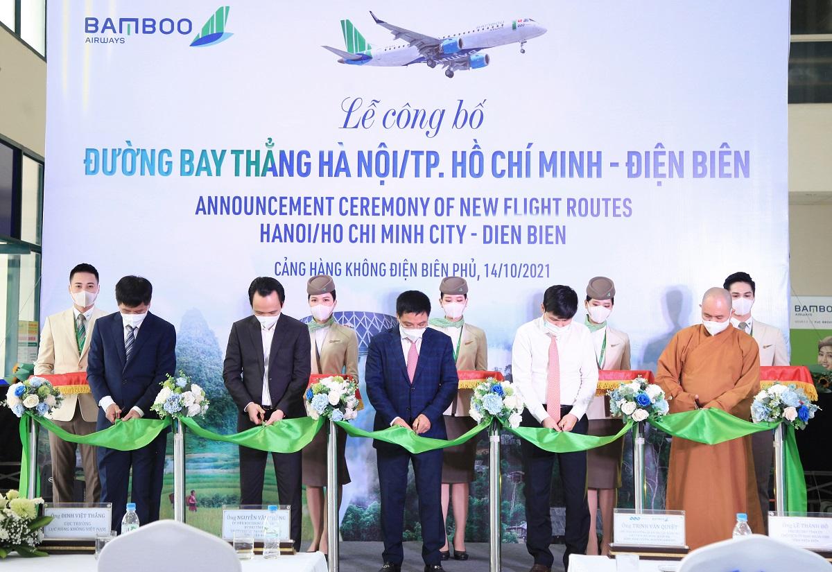 Bamboo Airways khai trương đường bay thẳng Hà Nội, TP Hồ Chí Minh - Điện Biên - Ảnh 3.